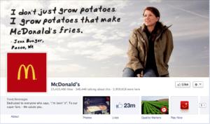 Facebook fa aumentare i clienti: la strategia di Mc Donald's Svezia. Ed in Italia?