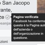 Attività locale su Facebook: come verificare la pagina